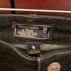 Abercrombie & Fitch Jeans - High Rise Skinny Jeans